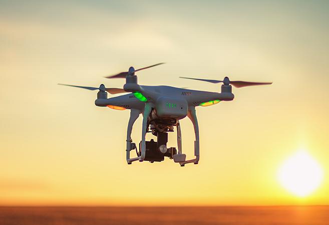 entreprise de drone